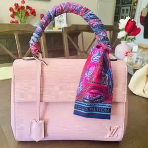 Louis Vuitton Cluny BB Epi Leather in Rose